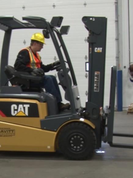 Sit-Down Forklift Pre-Shift Inspection