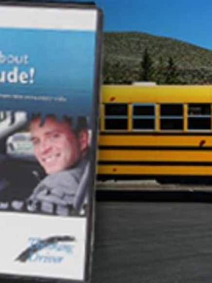 It's All About Attitude! School Buses DVD
