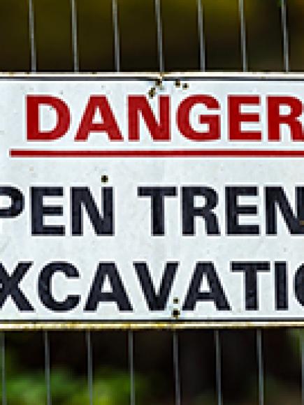 Trench Safety – Operator Safety (OSHA)
