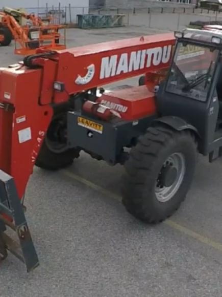 Telehandler / Variable Reach Forklift Pre-Shift Inspection
